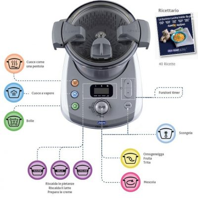 robot chicco delonghi baby meal