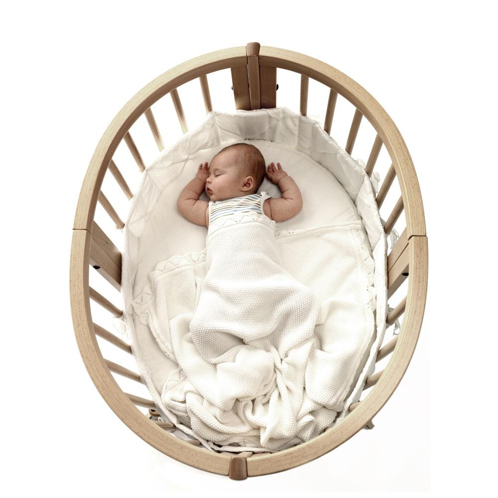 immagine culla sleepi mini con bebè