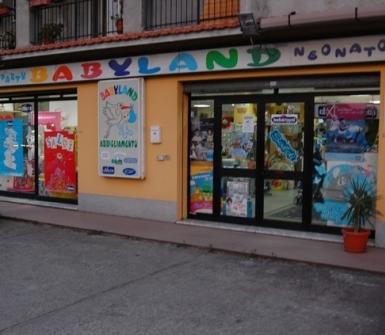 babyland negozio articoli per bambini