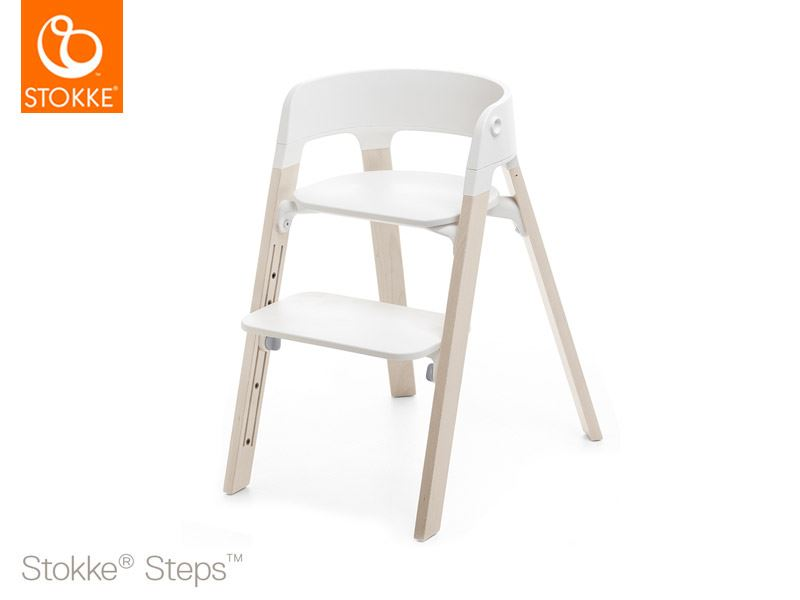 Stokke Steps Whitewash colore bianco