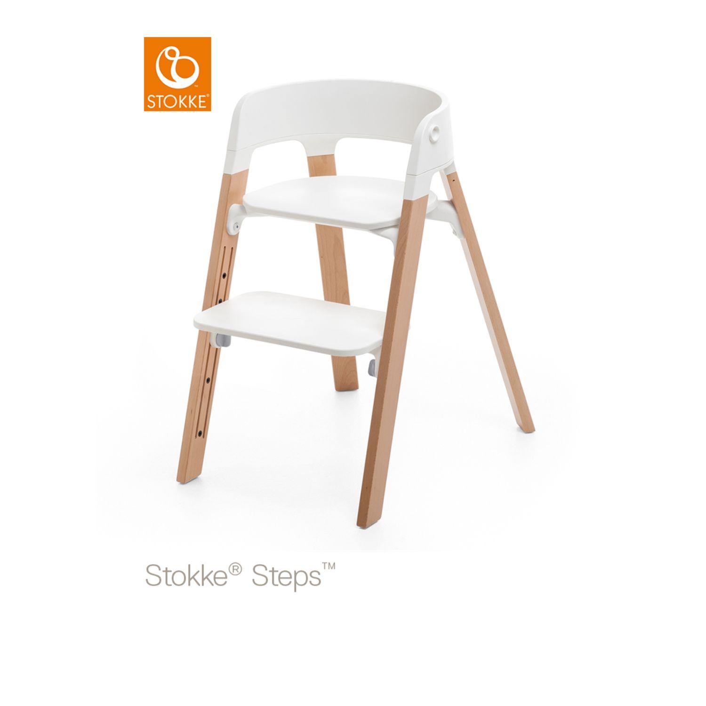 Stokke Steps seggiolone da tavolo colore naturale