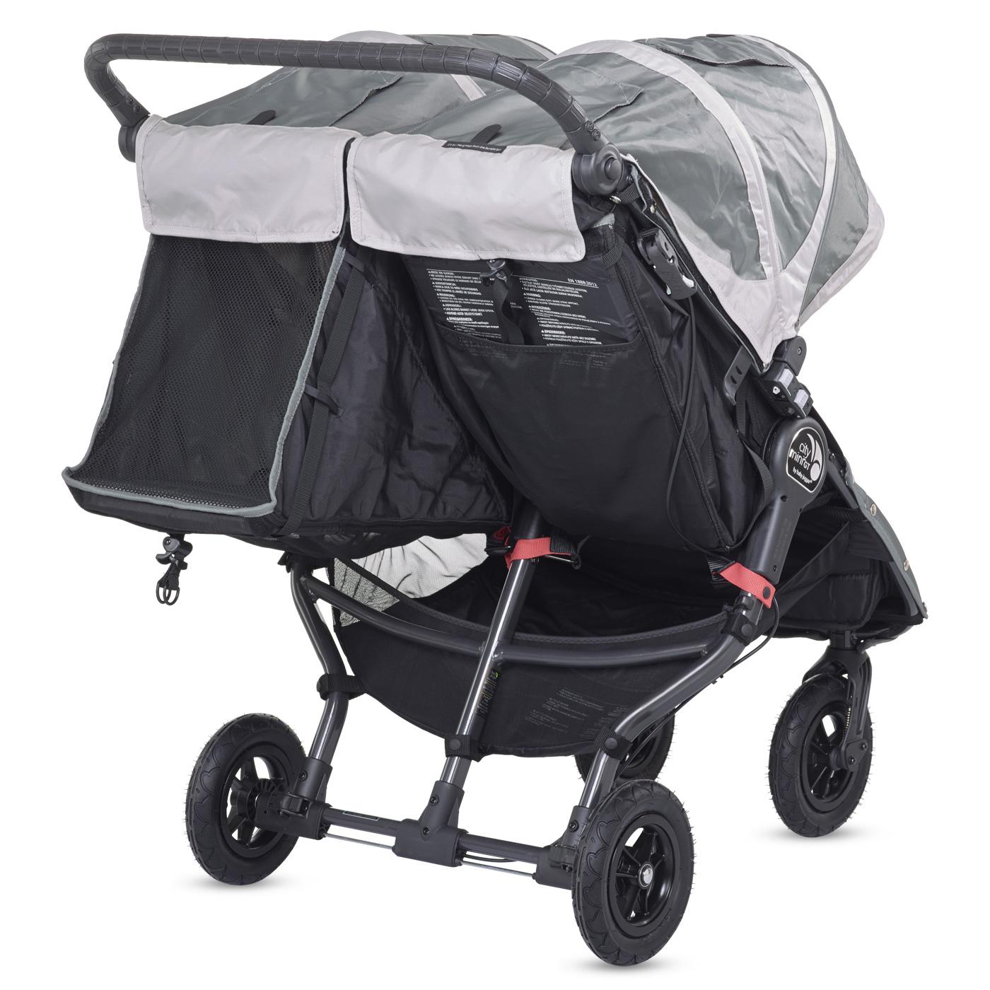 Baby Jogger City Mini Double GT / Schienale reclinabile