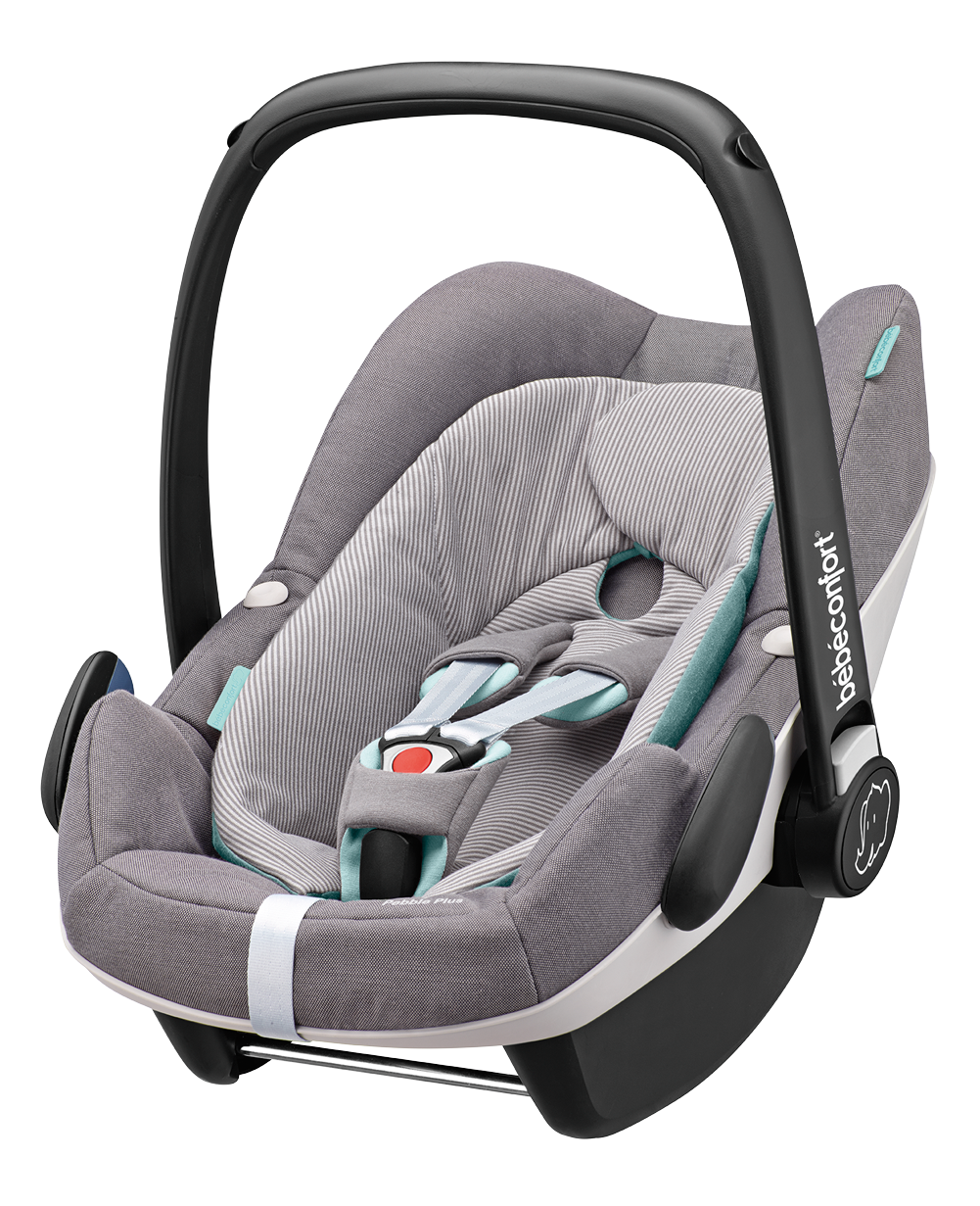 Seggiolino Auto i-Size Bébé Confort Pebble Plus Concrete Gray