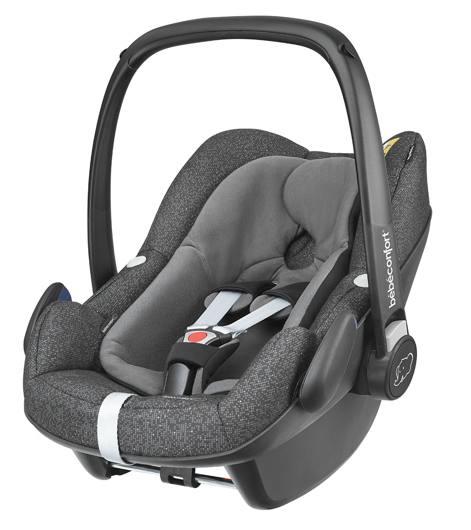Seggiolino Auto i-Size Bébé Confort Pebble Plus Triangle Black
