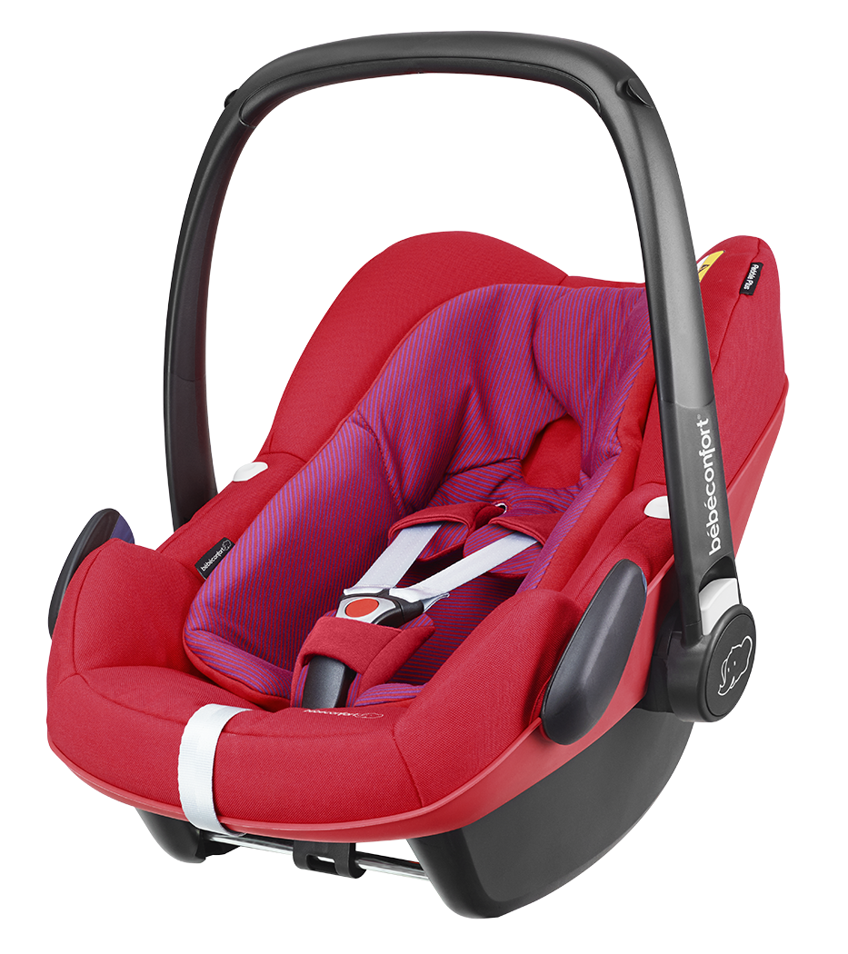 Seggiolino Auto i-Size Bébé Confort Pebble Plus Red Orchid