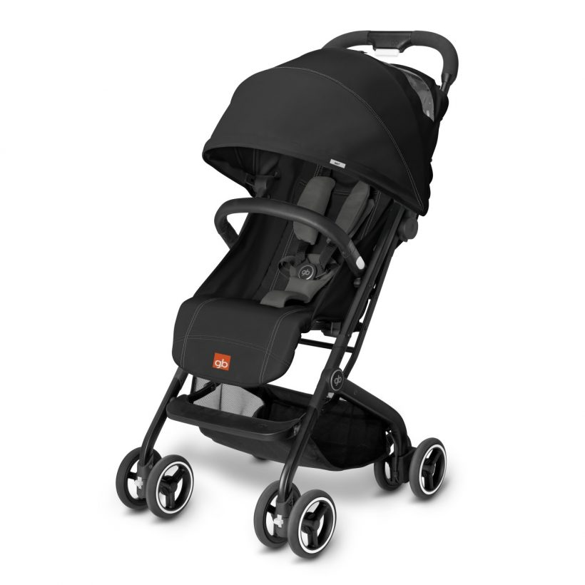 passeggino gb qbit monument black