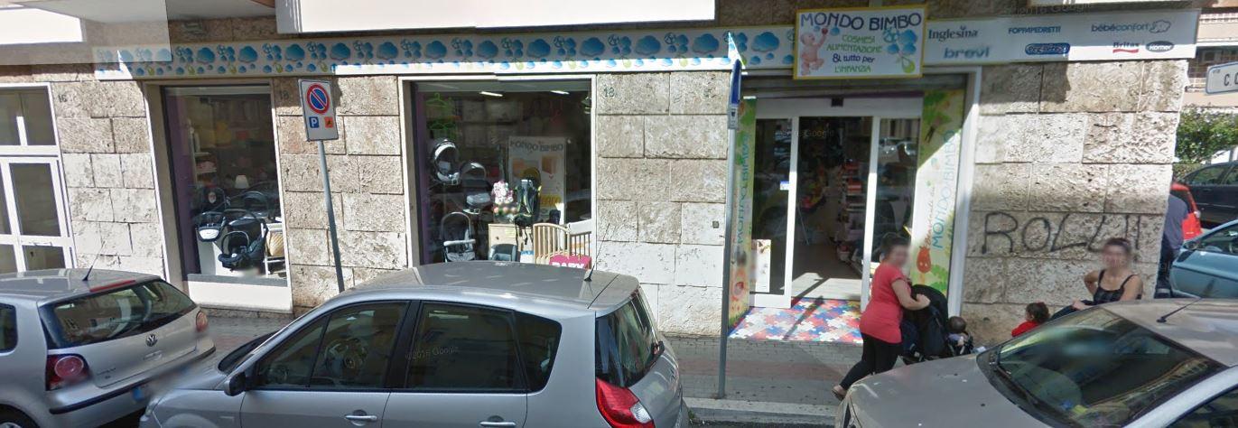 Mondo Bimbo Civitavecchia negozio con tutto per bambini