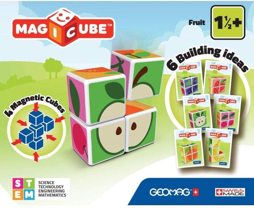 Geomag Magicube Fruit in vendita nei negozi Beberoyal