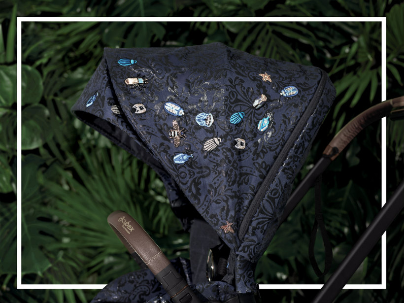 ricami collezione cybex jewels of nature