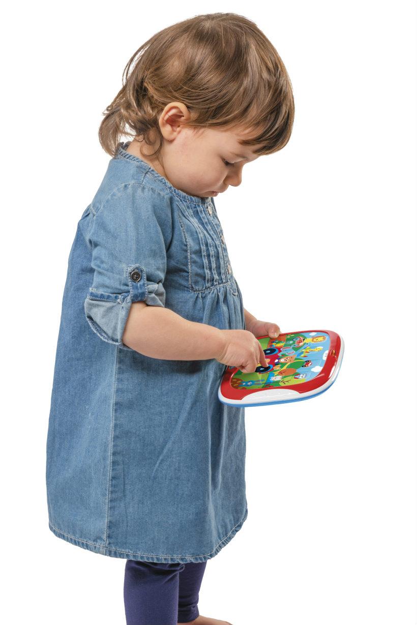 chicco baby senses tablet degli animali