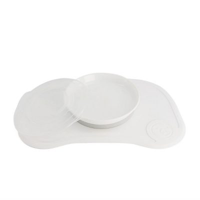 twistshake-click mat and plate-bianco_beberoyal