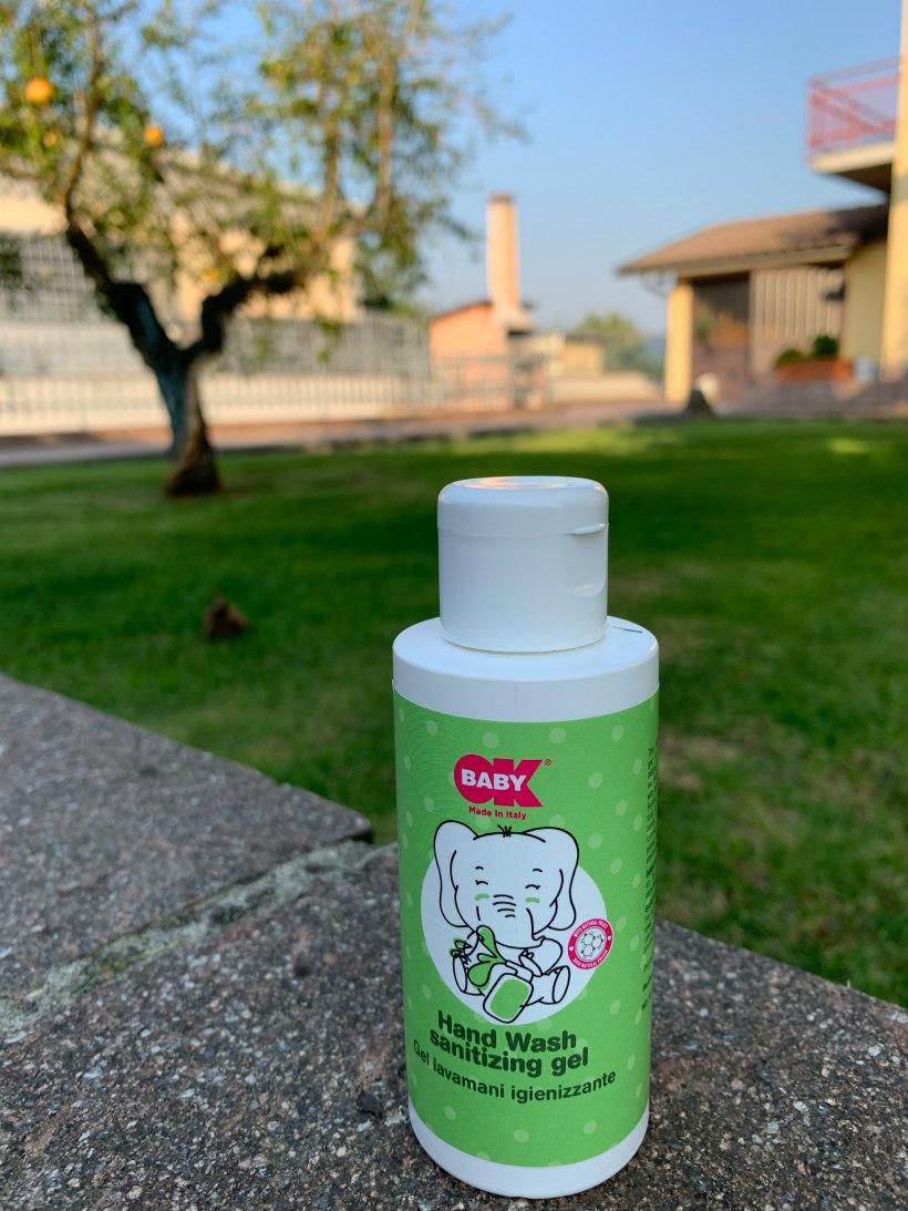 okbaby gel igienizzante lavamani
