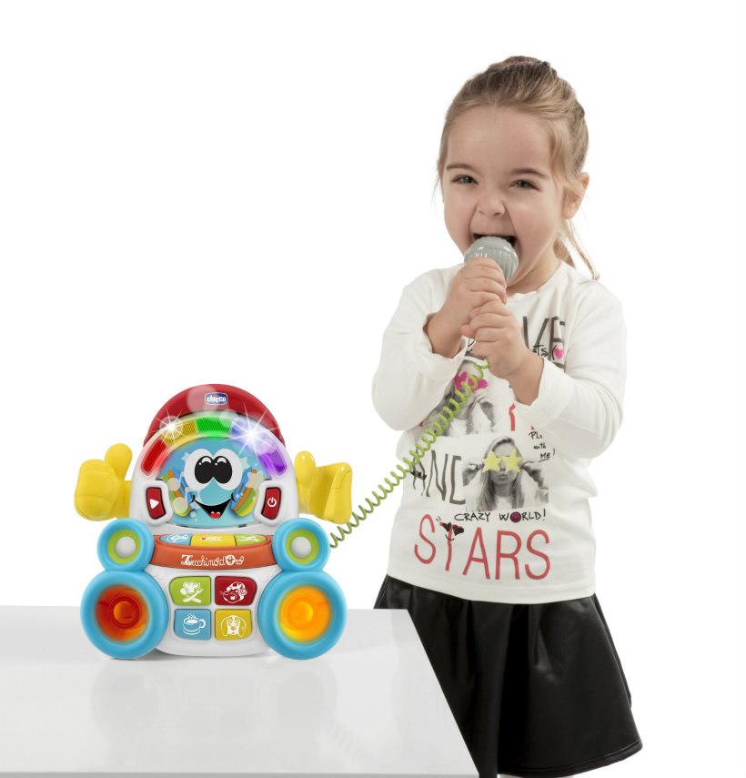 chicco songy il cantante karaoke per bambini