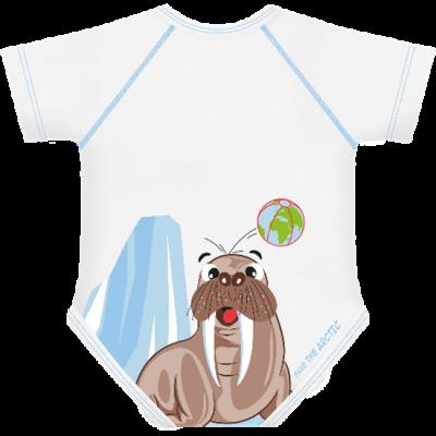 body-taglia-unica-j-bimbi-0-36-mesi-save-the-arctic-tricheco_beberoyal